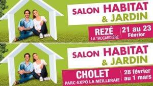 Salons Habitat Nantes Cholet 2020