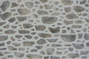 enduit mural décoration pierres