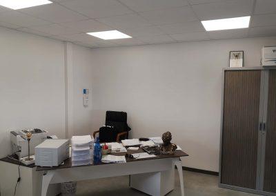 Le bureau du chef