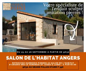 Affiche pour le salon de l'habitat d'Angers 2020