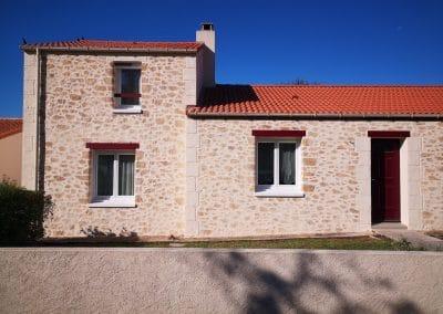 Déco pierres pour cette maison dans le sud ouest de Nantes