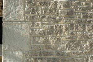 Enduit décoratif extérieur pierres
