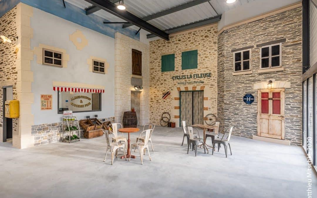 Village Harmonie Pierres à Cholet, découvrez notre showroom, enduits décoratifs imitation pierre
