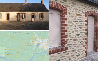 Fausses pierres pour murs extérieurs à Champtocé sur Loire 49