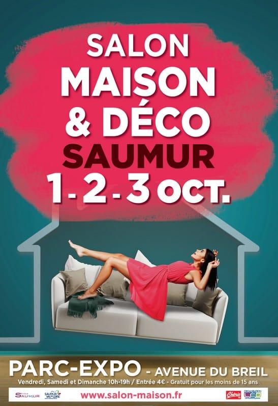 Salon de la maison et de la déco de saumur en octobre 2021