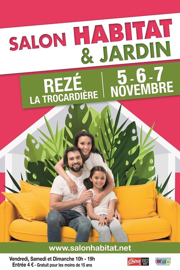 Salon de la maison de Rezé en novembre 2021